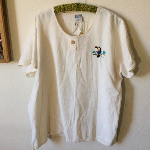 Vintage Other - Carlos Cerda Vintage Tucan Short Sleeve Shirt